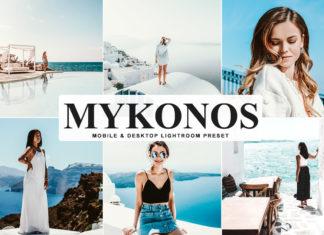 Free Mykonos Lightroom Preset