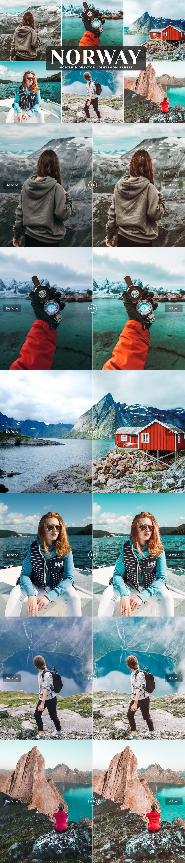 Free Norway Lightroom Preset