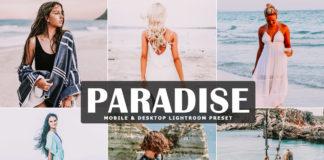 Free Paradise Lightroom Preset