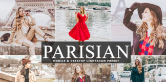 Free Parisian Lightroom Preset