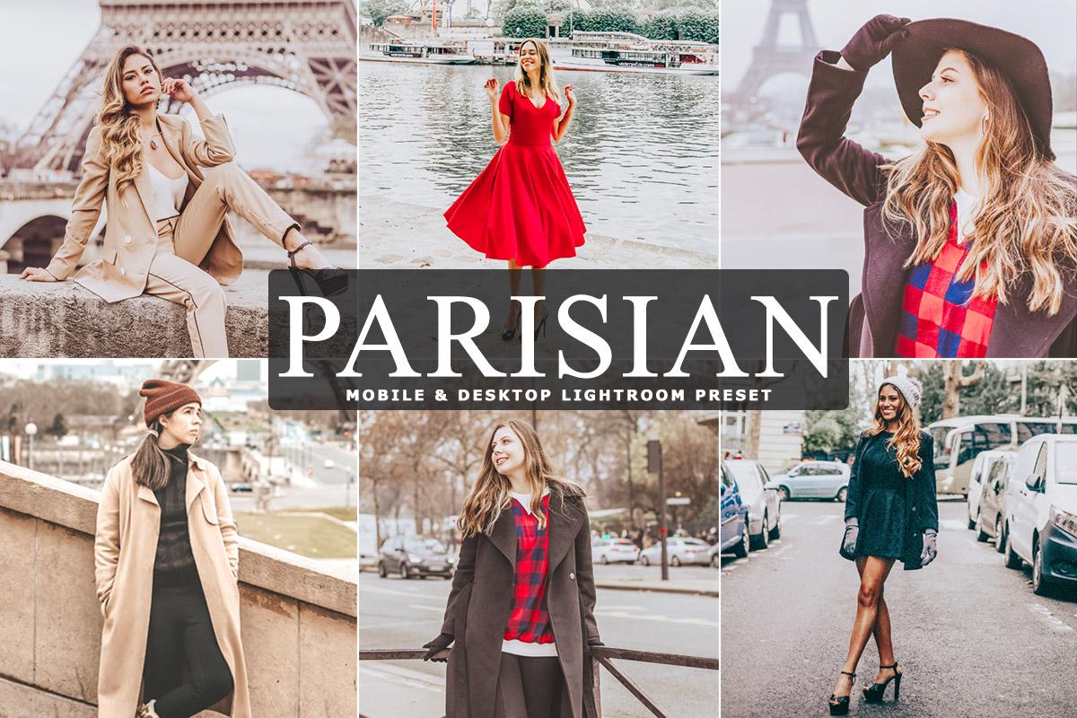 Free Parisian Lightroom Preset