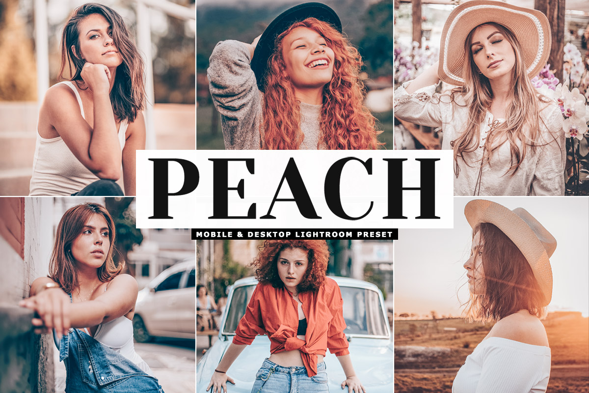Free Peach Lightroom Preset