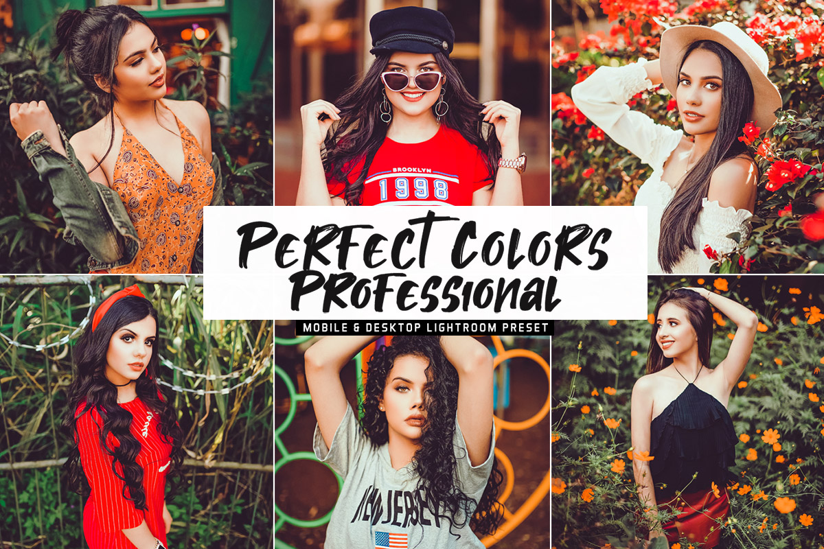 Free Perfect Colors Professional Lightroom Preset