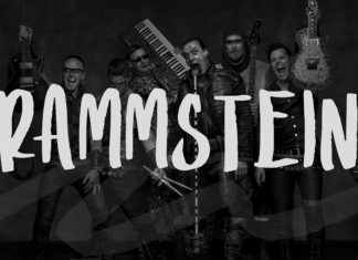 Free Rammstein Display Font