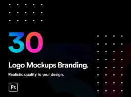 Free Realistic Logo Mockups