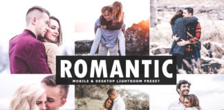 Free Romantic Lightroom Preset