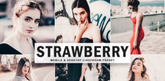 Free Strawberry Lightroom Preset