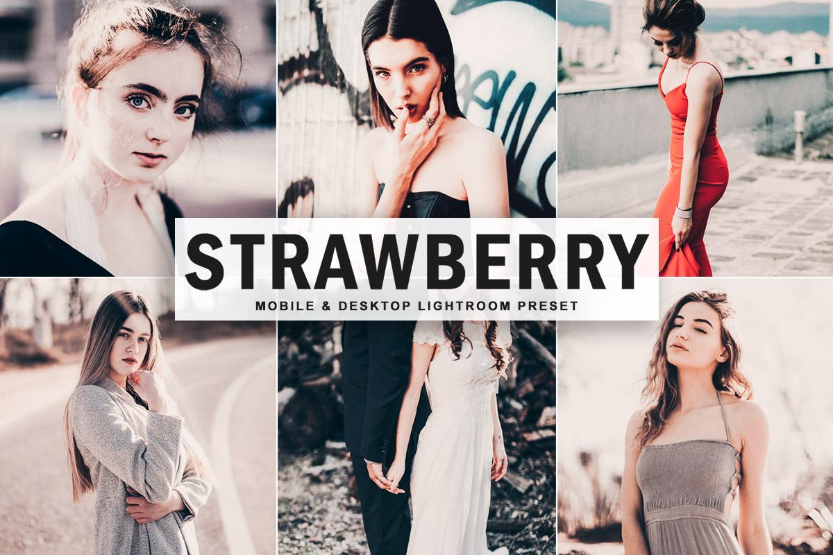 Free Strawberry Lightroom Preset