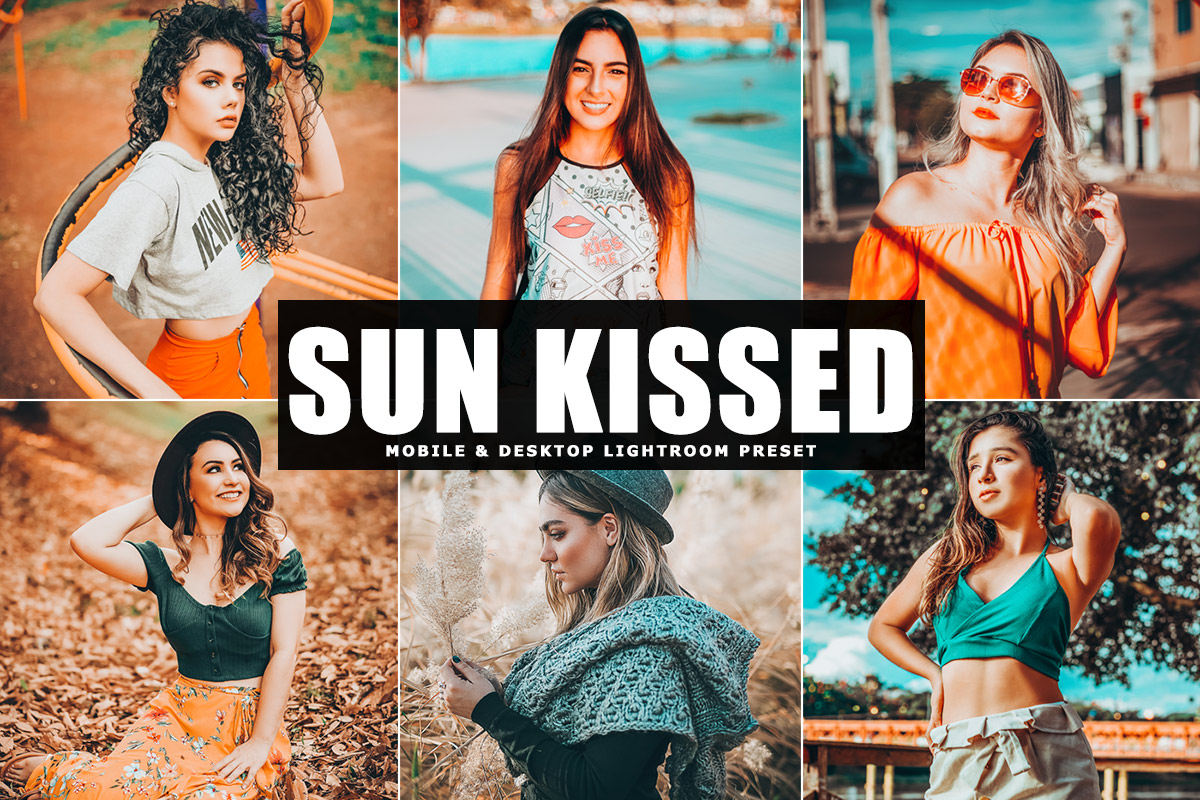 Free Sun Kissed Lightroom Preset