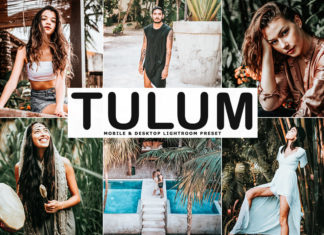 Free Tulum Lightroom Preset