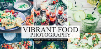 Free Vibrant Food Photography Lightroom Preset