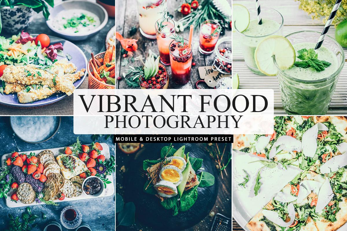 Free Vibrant Food Photography Lightroom Preset