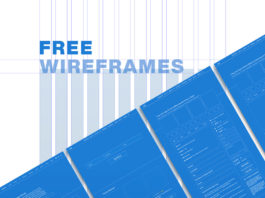 Free Wireframes XD Template