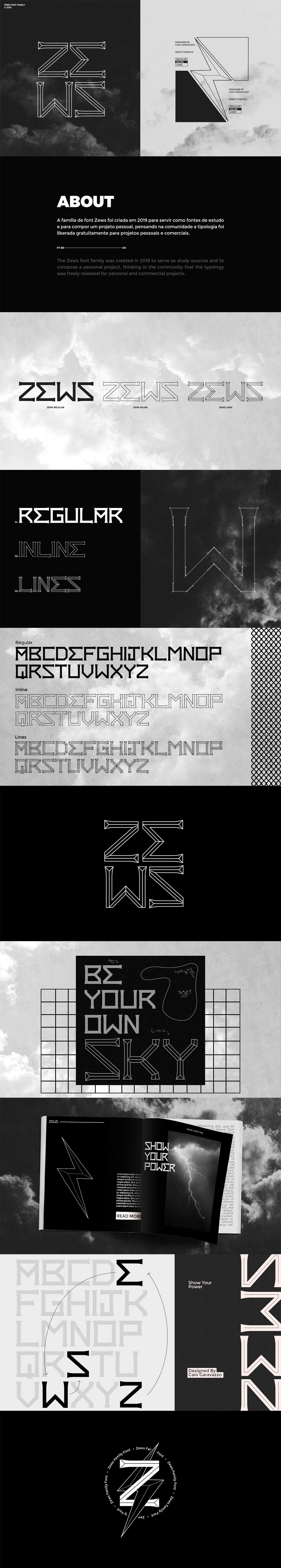 Free Zews Display Font Family