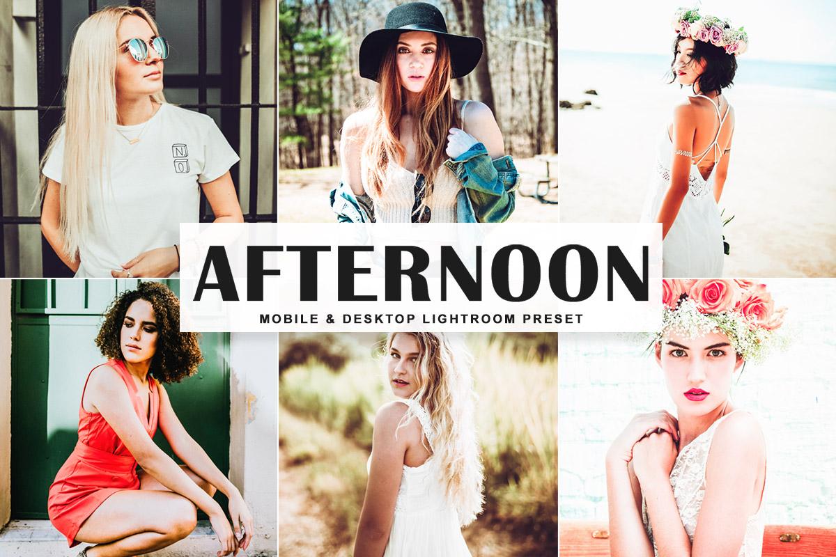 Free Afternoon Lightroom Preset