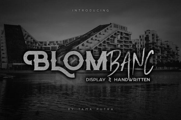 Free Blombanc Script Font