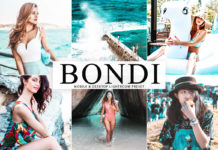 Free Bondi Lightroom Preset