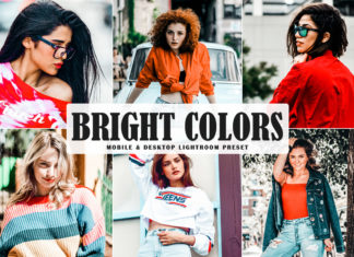 Free Bright Colors Lightroom Preset