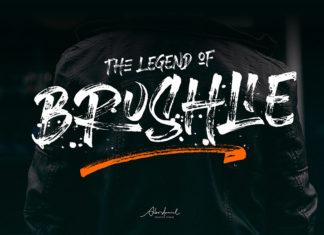 Free Brushlie Urban Brush Font