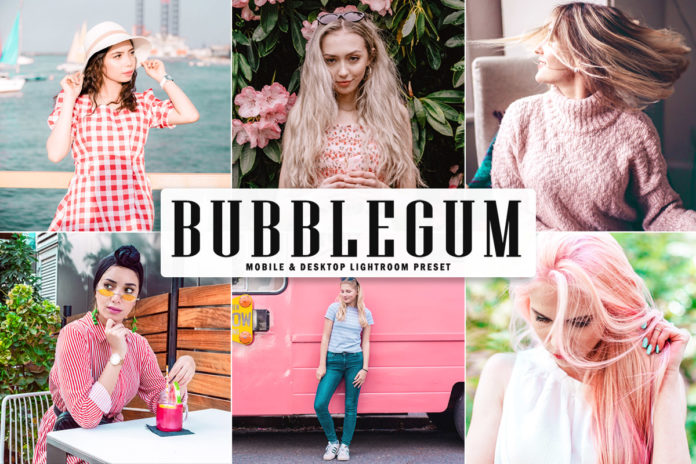 Free Bubblegum Lightroom Preset