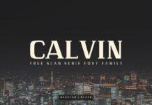 Free Calvin Slab Serif Font Family