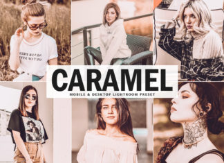 Free Caramel Lightroom Preset