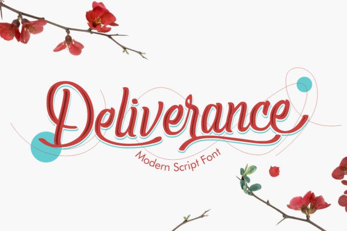 Free Deliverance Script Handwritten Font