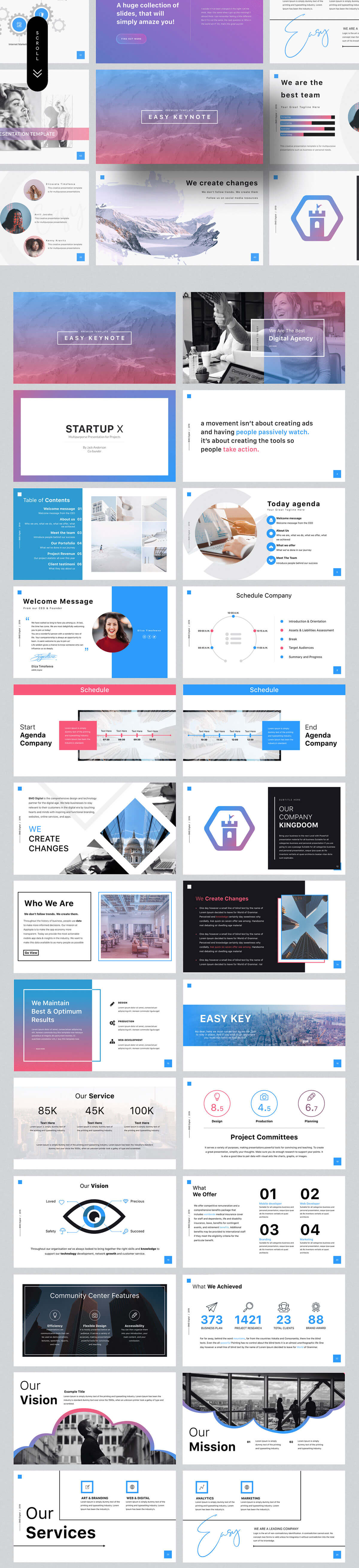 Free Easy Modern Presentation Template