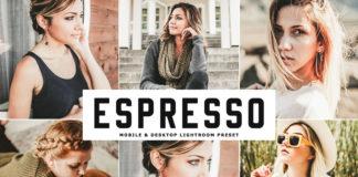 Free Espresso Lightroom Preset