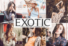 Free Exotic Lightroom Preset