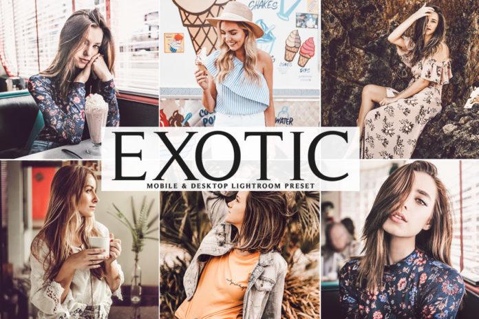 Free Exotic Lightroom Preset