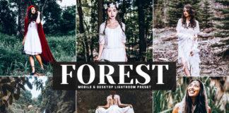 Free Forest Lightroom Preset