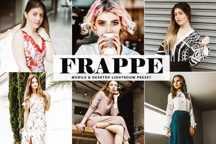 Free Frappe Lightroom Preset