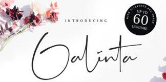 Free Galinta Signature Font