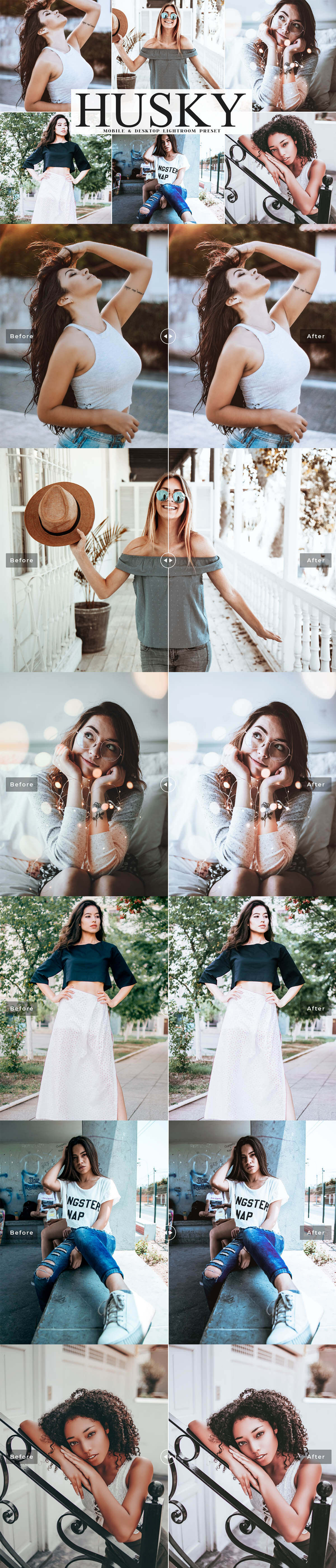 Free Husky Lightroom Preset