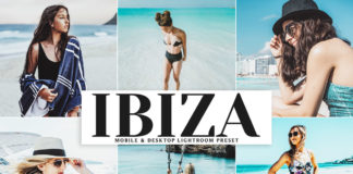 Free Ibiza Lightroom Preset