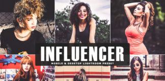 Free Influencer Lightroom Preset