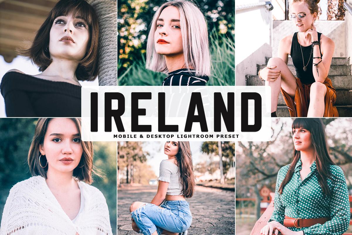 Free Ireland Lightroom Preset
