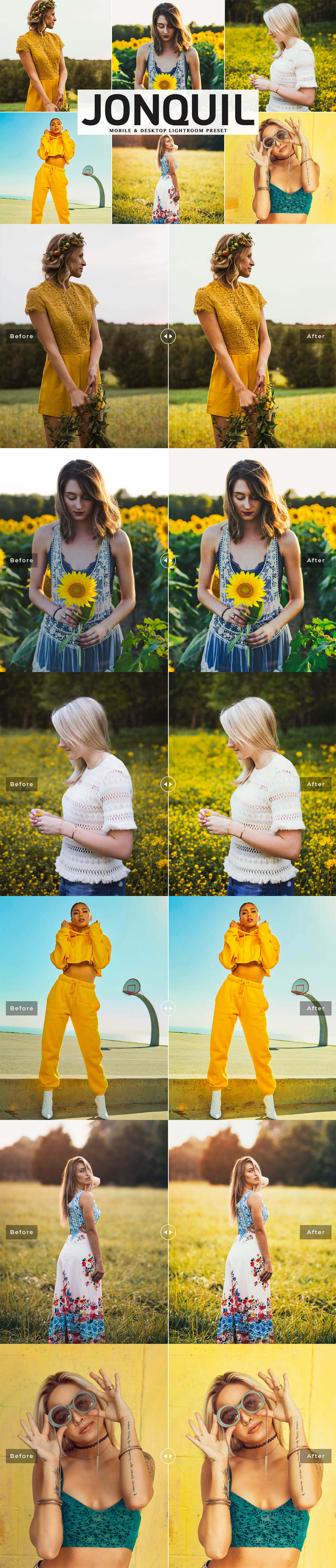 Free Jonquil Lightroom Preset