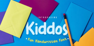 Free Kiddos Fun Handwritten Font