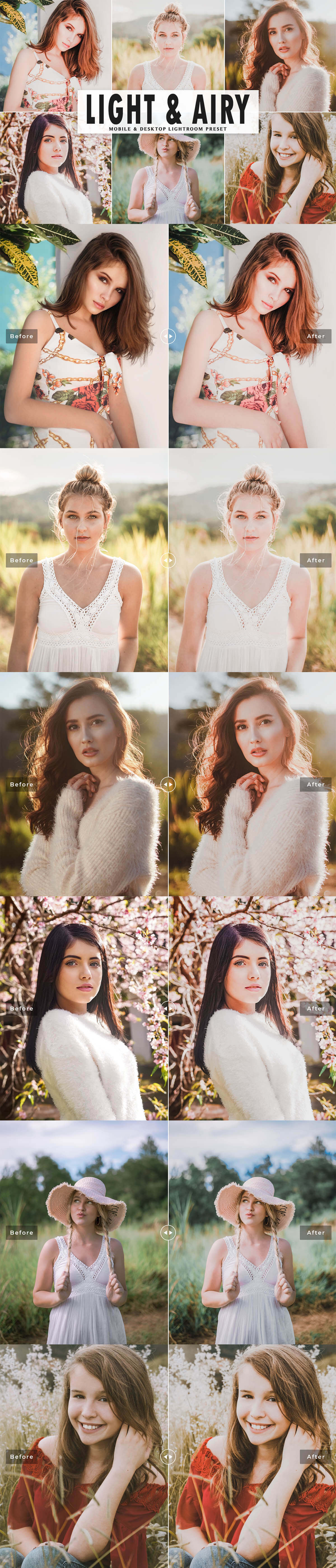 Free Light & Airy Lightroom Preset