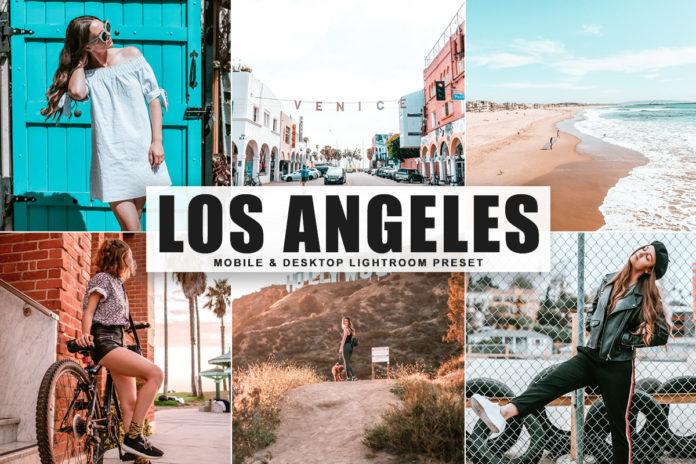 Free Los Angeles Lightroom Preset
