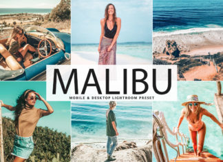 Free Malibu Lightroom Preset
