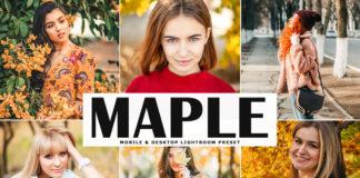 Free Maple Lightroom Preset