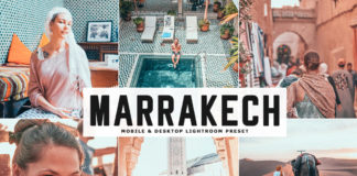 Free Marrakech Lightroom Preset