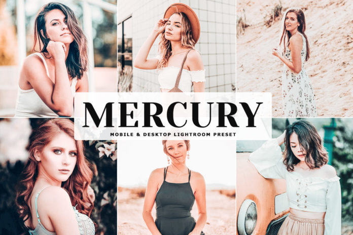 Free Mercury Lightroom Preset