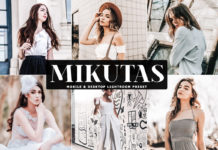 Free Mikutas Lightroom Preset