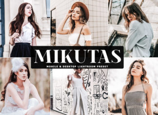 Free Mikutas Lightroom Preset