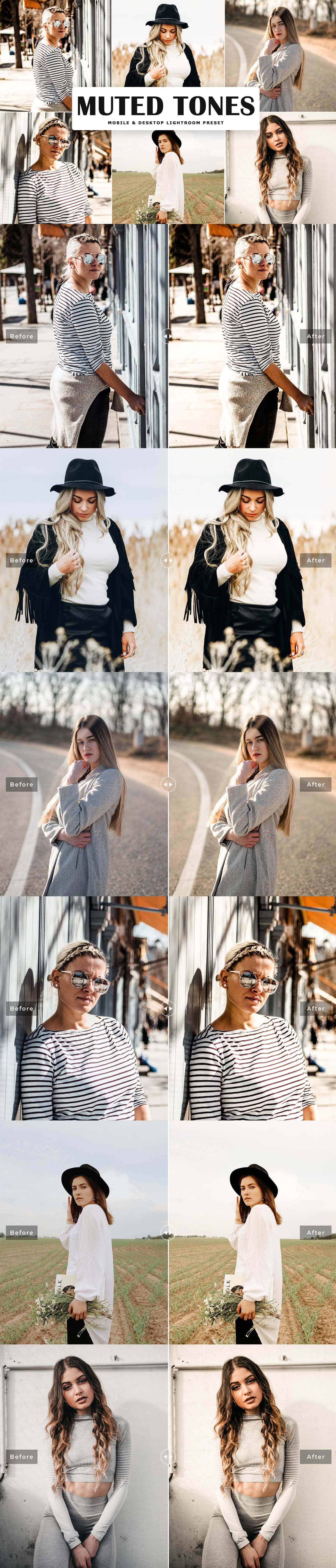 Free Muted Lightroom Preset