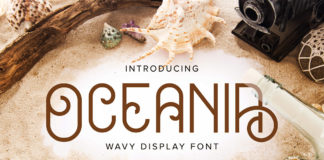 Free Oceania Display Font